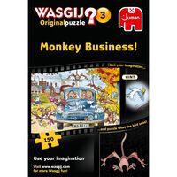 Wasgij Original 3 Monkey Business 150 Piece Jigsaw Puzzle