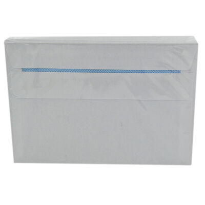 White Self Seal C6 Envelopes - Pack Of 50 image number 2