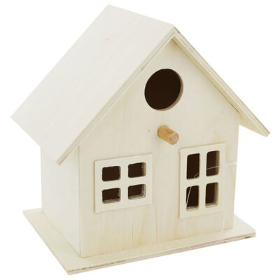 Wooden Birdhouse image number 1