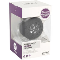 Black Bluetooth Sphere Speaker