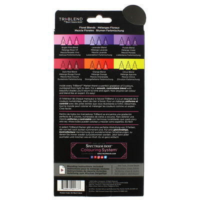 Spectrum Noir TriBlend - Floral Blends - 6 Pack image number 4