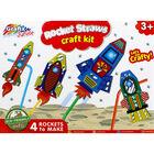Rocket Straws Craft Kit image number 2