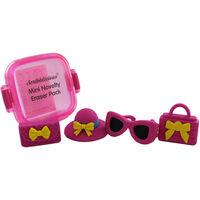 Mini Novelty Erasers Pack - Pink