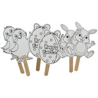 Easter Stick Characters - Pack Of 5