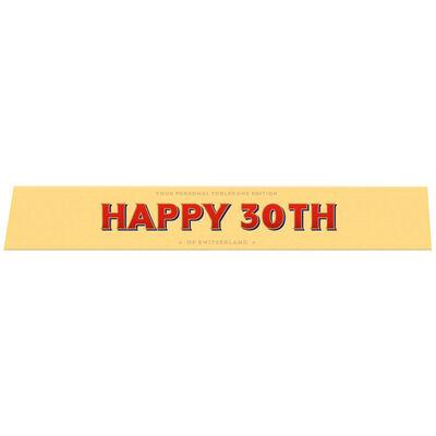 Toblerone Milk Chocolate 100g – Happy 30th image number 1