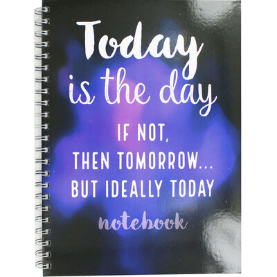 A4 Wiro Today Is The Day Notebook image number 1