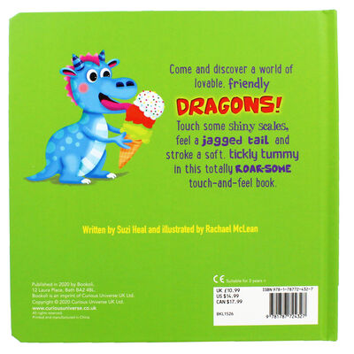 Fierce and Friendly Dragons: Touch-and-Feel Book image number 4