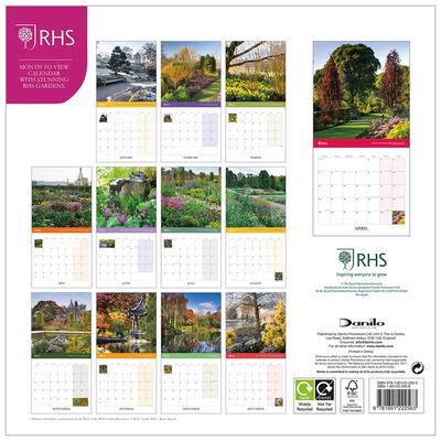 RHS Gardens 2022 Square Calendar image number 3