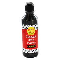 Black Readymix Paint - 300ml