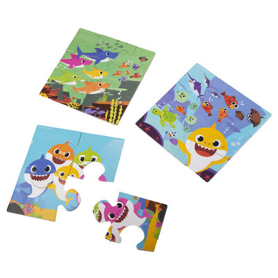 Baby Shark My First Puzzle 3-in-1 Jigsaw Puzzle image number 3