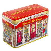 Seasons Greetings Gift Shop English Afternoon Tea Tin - 40 Teabags
