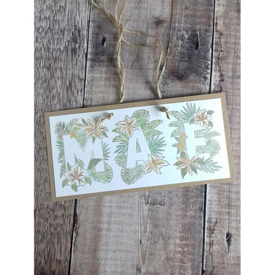 Crafters Companion Clear Acrylic Stamp - Floral Letter C image number 2