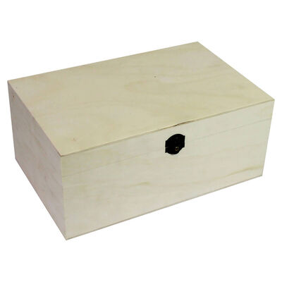 Easter Create Your Own Wooden Box: 30 x 20 x 13cm Bundle image number 2