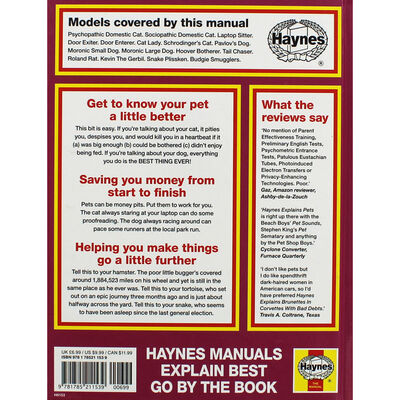 Haynes Explains Pets image number 3