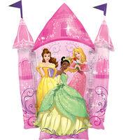 35 Inch Disney Princess Castle Super Shape Helium Balloon