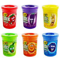 Crayola Silly Scents 5oz Dough Tub Assorted