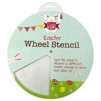Easter Wheel Stencil