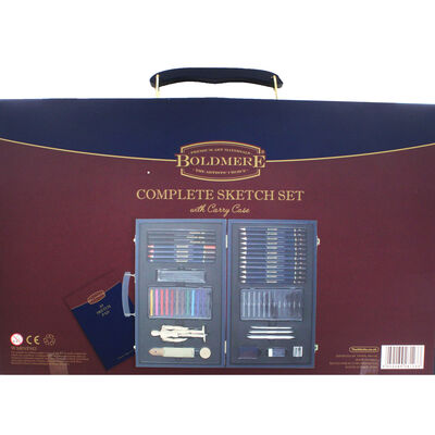 Complete 57 Piece Sketch Set with Carry Case image number 3