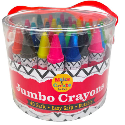 Jumbo Crayons: Set of 40 image number 1