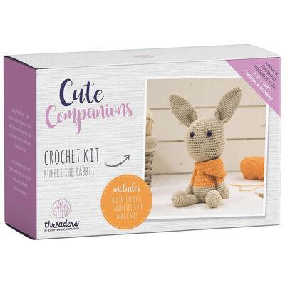 Rupert The Rabbit - Cute Companions Crochet Kit image number 1