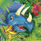 Dinosaur Paper Napkins - 16 Pack image number 1