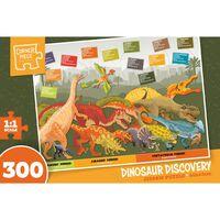 Dinosaur Discovery 300 Piece Jigsaw Puzzle