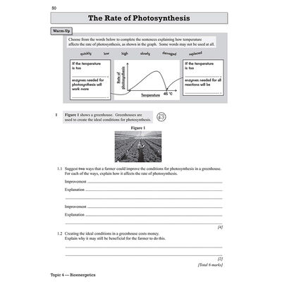CGP GCSE Biology Grade 9-1: Exam Practice Workbook image number 2