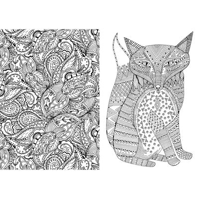Art Therapy: Anti-Stress Colouring Book image number 3