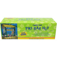 Table Top Tiki Bar Hut