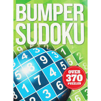 Green Bumper Sudoku Book