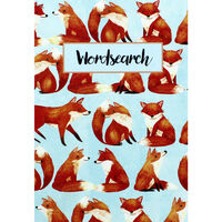 Baby Blue Fox Wordsearch Book