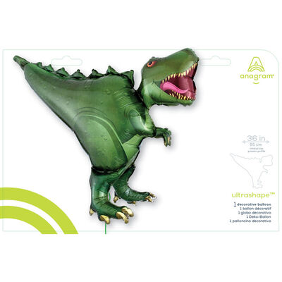 36 Inch Dinosaur Super Shape Helium Balloon image number 2