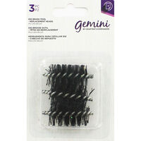 Gemini Die Brush Tool Replacement Heads - Pack of 3