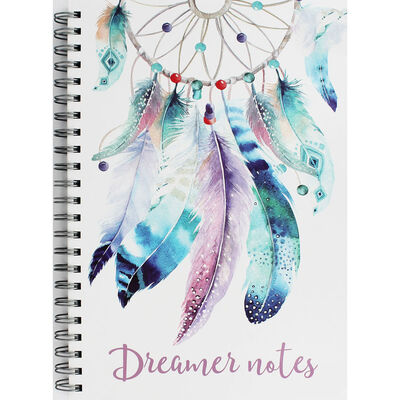 A4 Wiro Dream Catcher Design Notebook image number 1