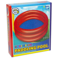 Three-Ring Inflatable Paddling Pool: Assorted