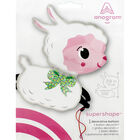 28 Inch Little Lamb Helium Balloon image number 2