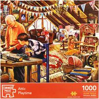 Attic Playtime 1000 Piece Jigsaw Puzzle