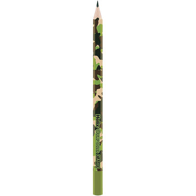 Helix Oxford Camo Green Pencils Pack of 5 image number 2