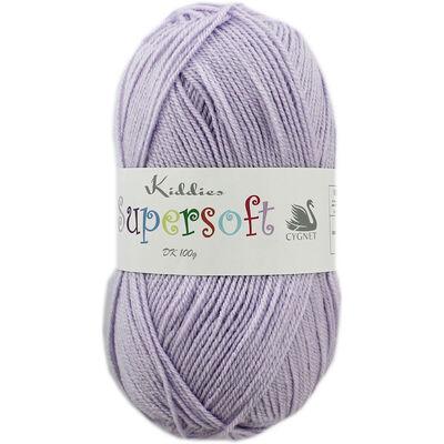 Kiddies Supersoft DK Lilac Yarn - 100g image number 1