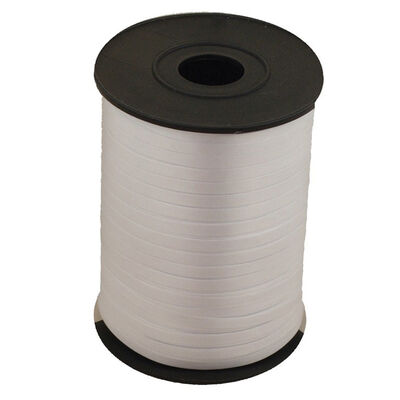 Silver Balloon Curling Ribbon - 500m x 5mm image number 1