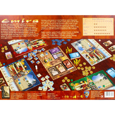Emira Strategy Board Game image number 4