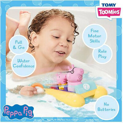 Peppa Pig Pull & Go Pedalo image number 3