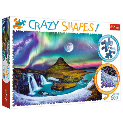 Aurora Over Iceland 600 Piece Jigsaw Puzzle image number 1