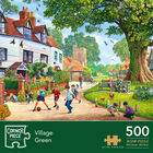 Village Green 500 Piece Jigsaw Puzzle image number 1