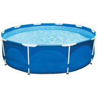 M.Y Splash Metal Frame Swimming Pool 10ft x 30in