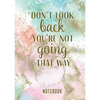 A5 Casebound Don't Look Back Notebook
