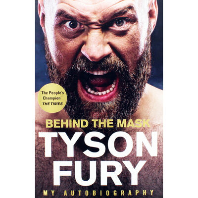 Tyson Fury: Behind The Mask Autobiography image number 1