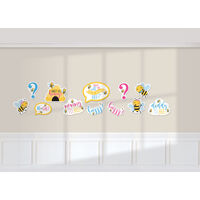 What Will it Bee Baby Shower Cutouts