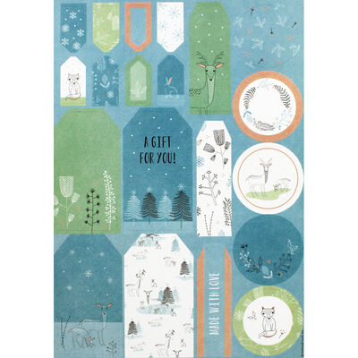 Winter Woodland A4 Ultimate Die-Cut and Paper Pack image number 3