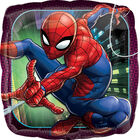 18 Inch Square Spiderman Helium Balloon image number 1